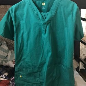 Other - Green hospital scrubs w/ pants